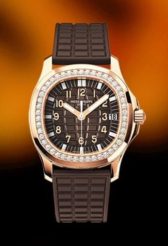 Patek Philippe Aquanaut Ladies Rose Gold Luce