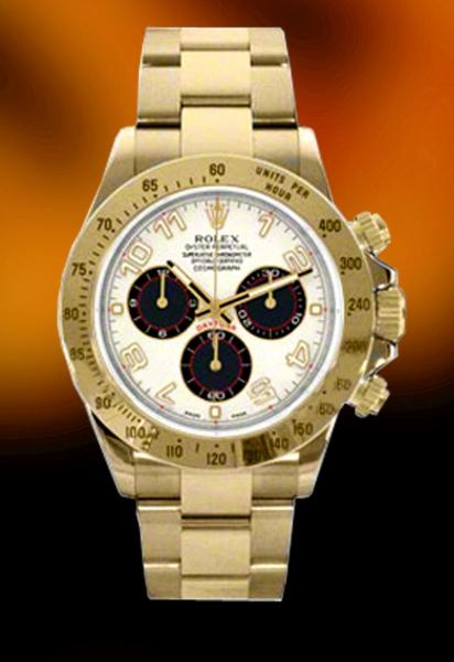 yellow gold rolex daytona