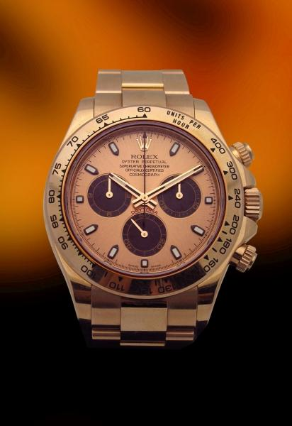 used rolex  daytona rose gold