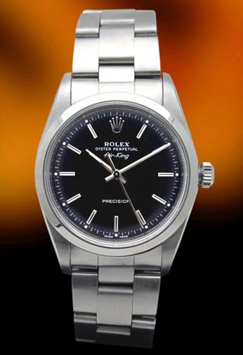 Rolex 14000 Air King stainless steel