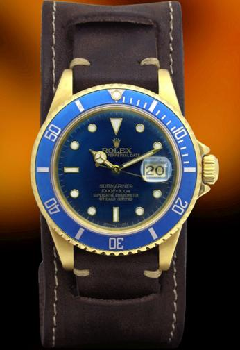 Rolex 16808 Yellow gold Submariner