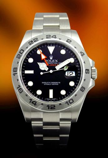 New Rolex Explorer II black dial