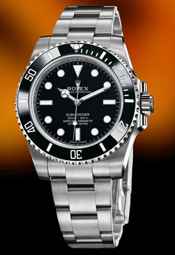 New stainless steel Rolex Submariner