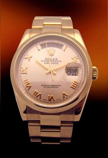 Rolex President mint condition 18k rose gold