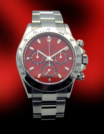 Custom Rolex Stainless Steel