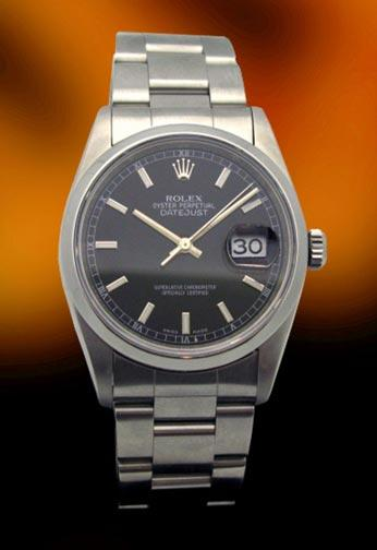 Rolex 16200 Datejust quickset