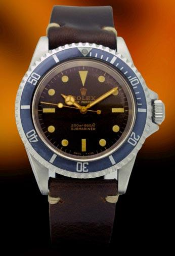 Rolex 5513 Tropical Gilt dial