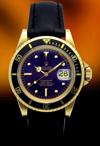 Rolex 1680 Submariner Gold