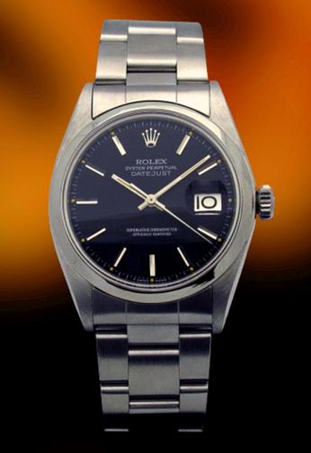 Rolex 1601 Vintage stainless steel Date Just