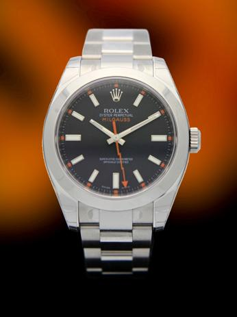 New  Rolex Milgauss black dial