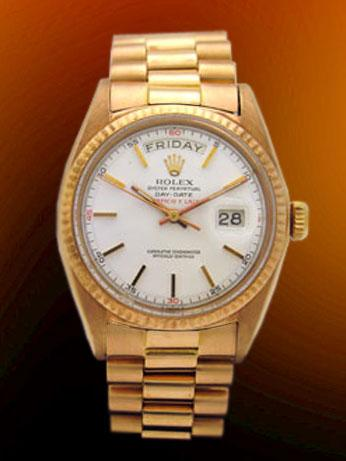 Rolex Day-Date 18K Rose Gold