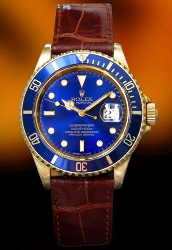 Rolex 16618 Submariner Blue dial