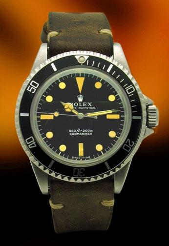 Rolex 5513 beautiful Vintage Submariner