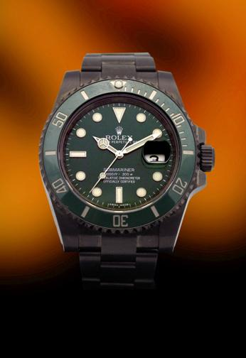 Rolex 16610-LV submariner 50th anniversary pvd