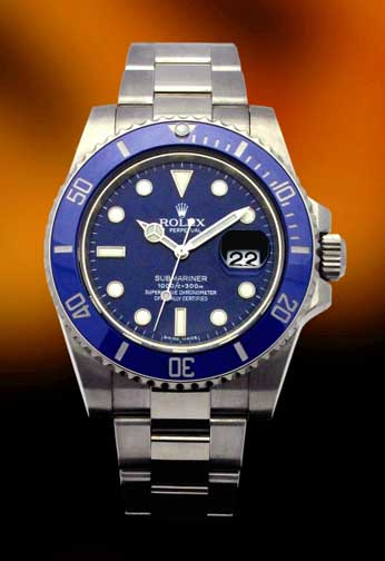 Rolex Submariner white gold